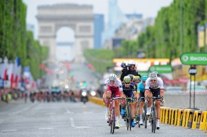 Abschluss der Tour de France 2017