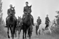 Reitsport bei der GST, DDR 1960