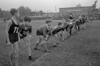 Laufwettbewerb der Jugend in Ostberlin, 1963