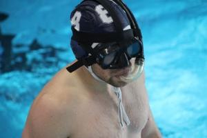 Unterwasserrugby Kampf um den Goldenen Ball