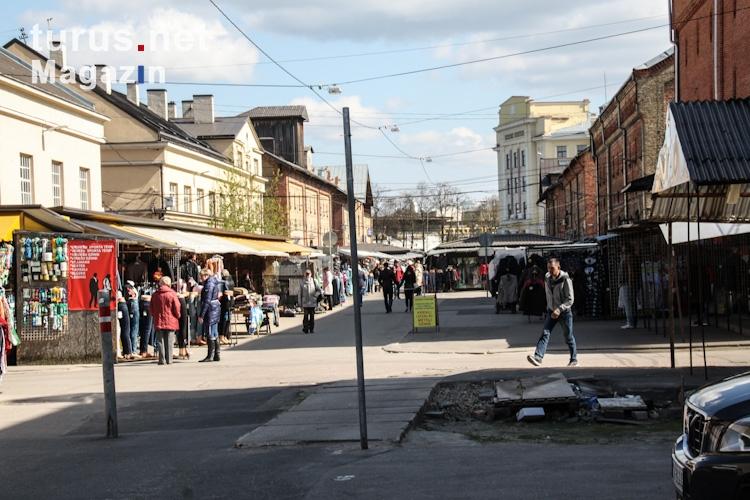 Foto: Zentralmarkt in Riga - Bilder von Lettland - turus ...