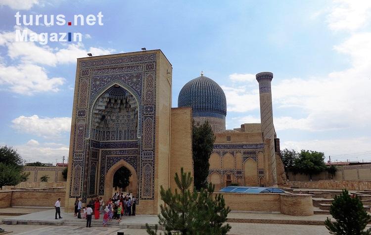 Foto: Gur-Emir-Mausoleum - Bilder von Usbekistan - turus ...