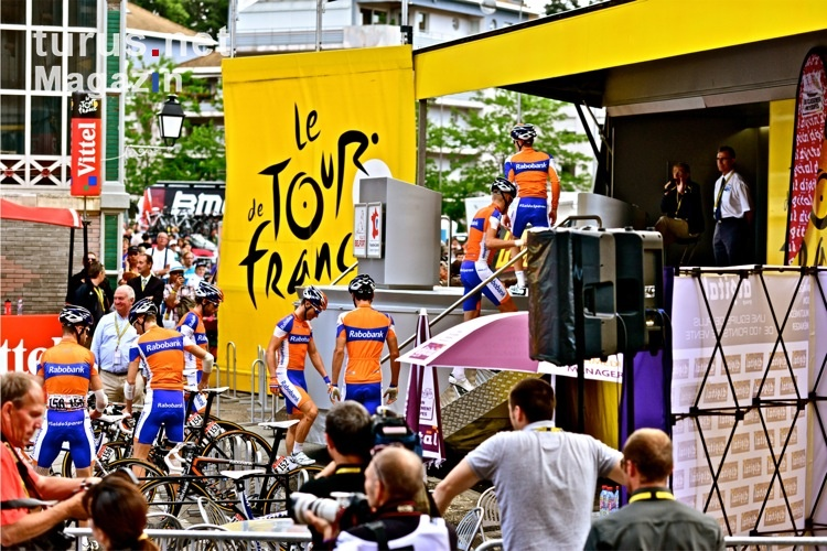 Team Rabobank bei der 99. Tour de France 2012