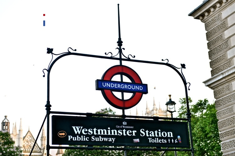 Westminster Station in London