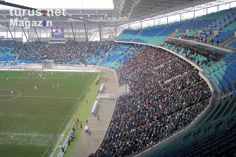 Foto: RB Leipzig - Chemnitzer FC in der Red Bull Arena ...