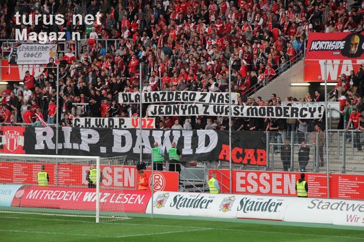 R.I.P Dawid Gedenken an polnischen Fan