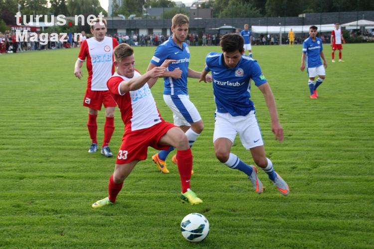 Foto: SV Sparta Lichtenberg vs. F.C. Hansa Rostock, 2:11 ...