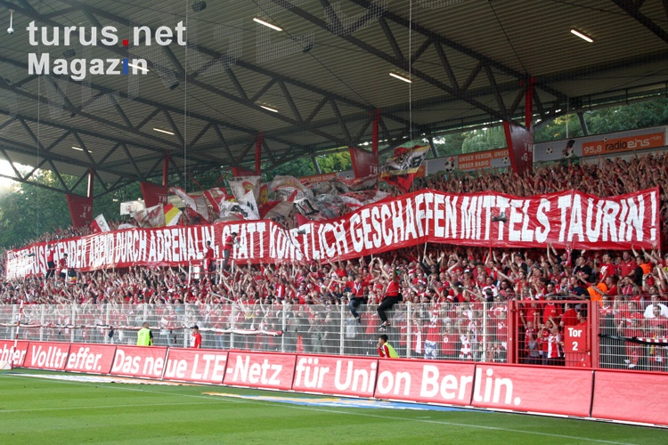 Foto: 1. FC Union Berlin vs. RasenBallsport Leipzig ...