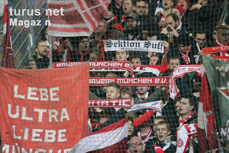Support Bayern Ultras in Bochum