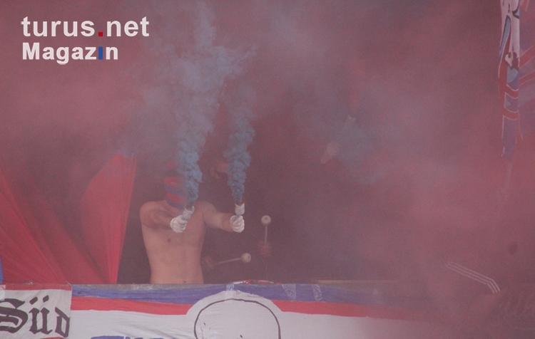 Foto: Pyroshow Ultras Krefeld gegen Duisburg - Bilder von ...