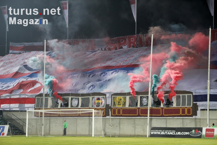 Pyroshow 15 Jahre Ultras Wuppertal
