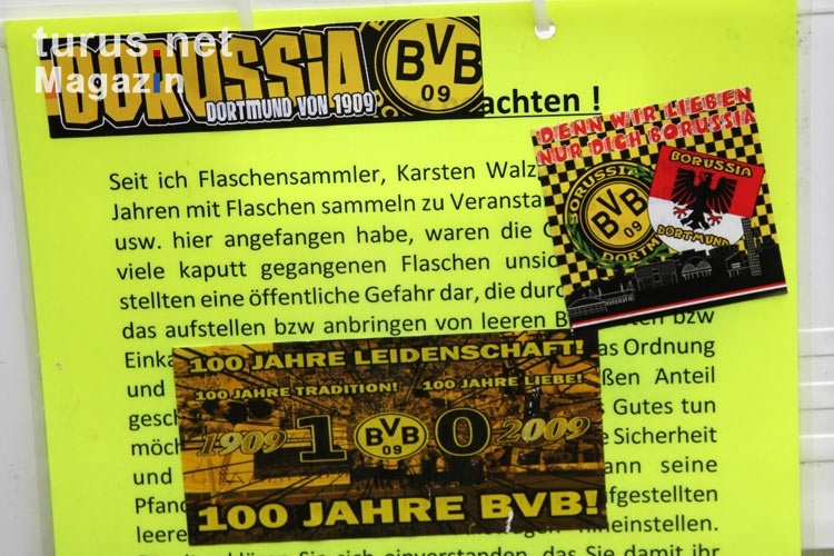 Foto Aufkleber Der Ultras Und Fanklubs Von Borussia