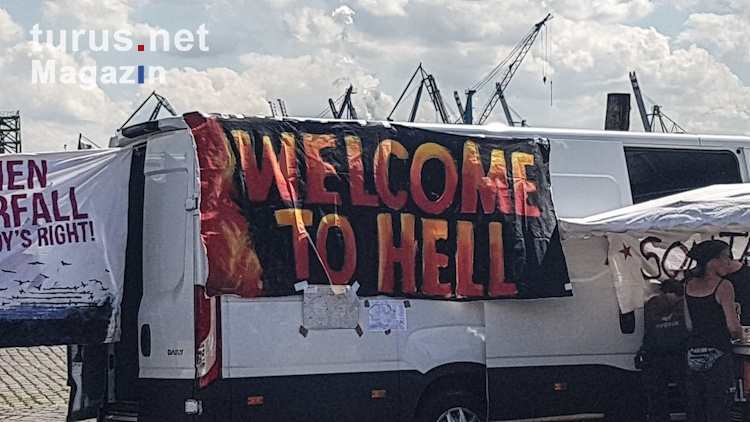Welcome To Hell Hamburg G20