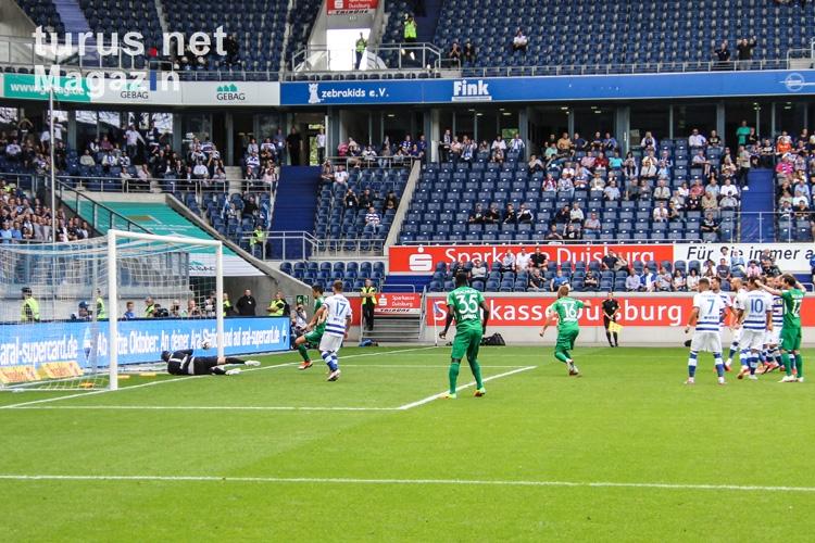 Foto Sidney Sam Tor Gegen Duisburg 11 08 2018 Bilder Von Vfl Bochum Turus Net Magazin