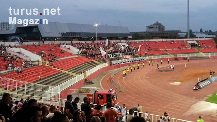 Foto: Vojvodina Novi Sad vs  Roter Stern Belgrad - Bilder