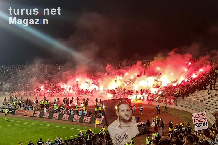 Foto Partizan Belgrad Vs Roter Stern Belgrad Bilder Von