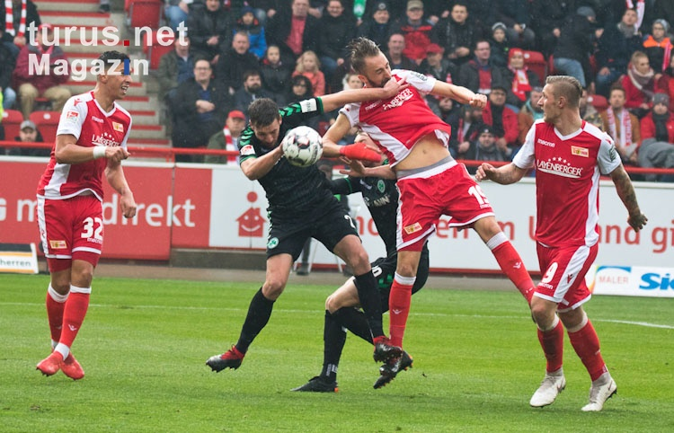 1. FC Union Berlin vs. SpVgg Greuther Fürth