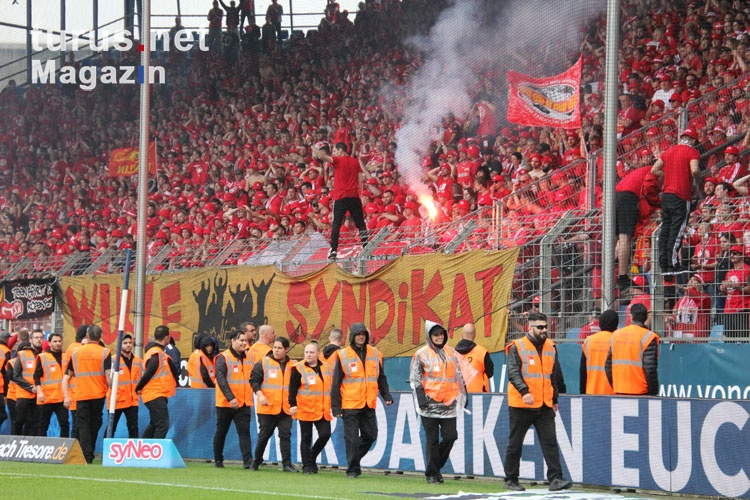 Support Union Berlin Fans in Bochum Mai 2019