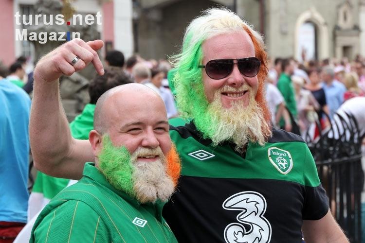 Foto: Echte irische Männer - Bilder von EM 2012 in Polen