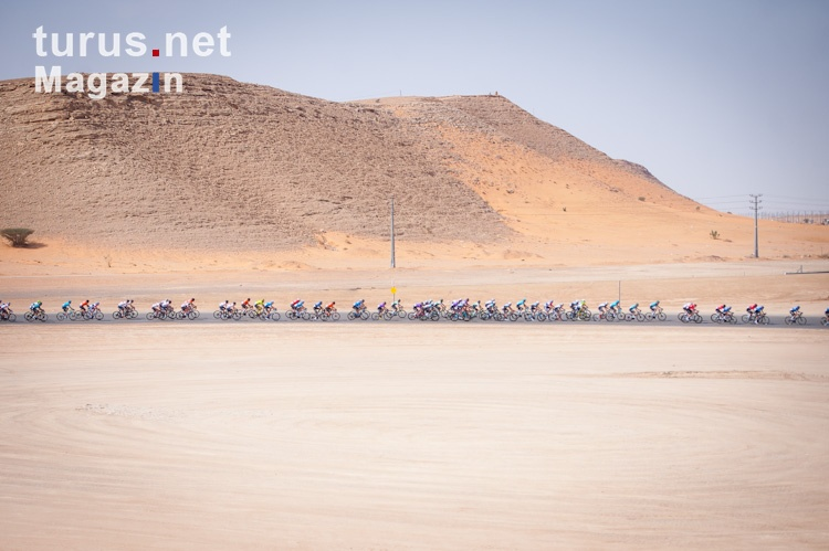 Cycling / Radsport / 1. Saudi Tour - 1.Etappe / 04.02.2020