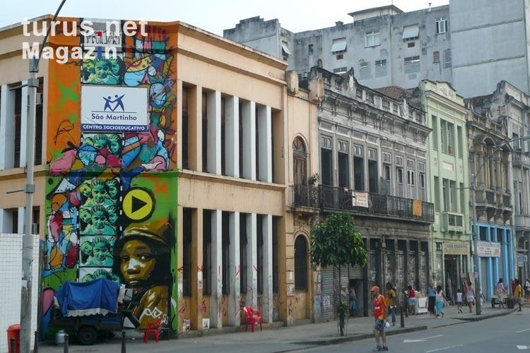 Foto Stadtteil Lapa Künstlerviertel In Rio De Janeiro Bilder