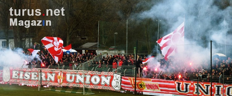 1. FC Union Berlin beim Traditionsduell im AKS
