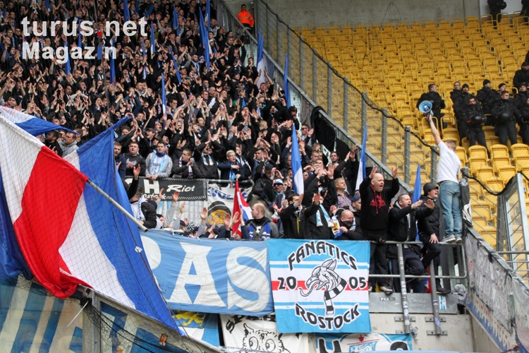 Foto: F.C. Hansa Rostock bei Dynamo Dresden - Bilder von F ...