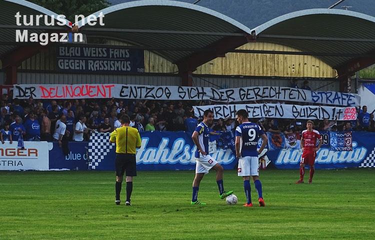 Foto Fc Blau Weiß Linz Vs Sk Vorwärts Steyr Bilder Von Fußball