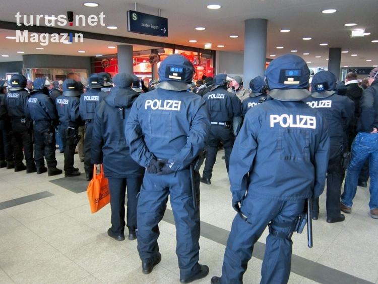 Polizeieinsatz Düsseldorf Hbf