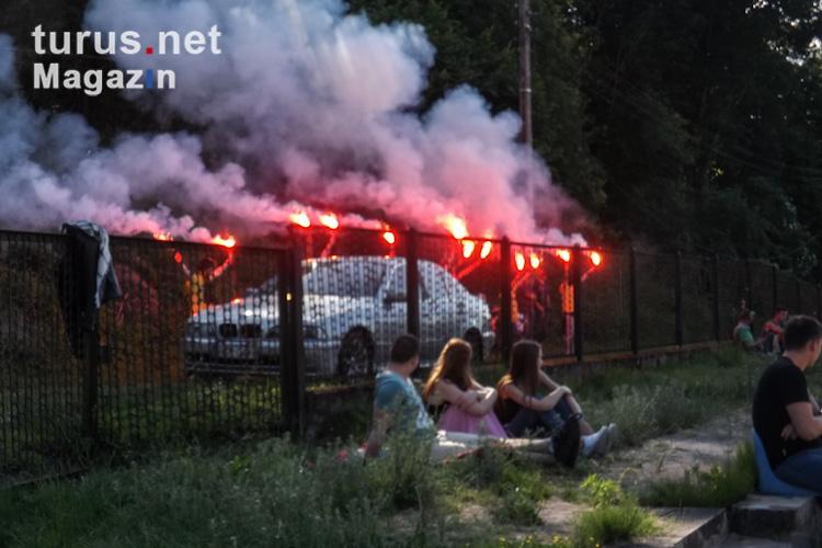 Pyroaktionen: Bilder, Videos und Infos