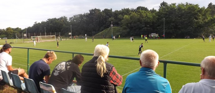 Blocki-Fußball deluxe bei Lotnik Poznań gegen Kamionki