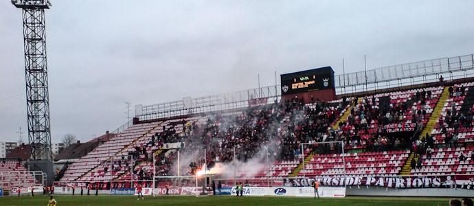 März 2009: Spartak Trnava vs. MFK Kosice im alten Stadion Antona Malatinského