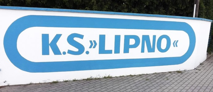 Stadion nad jeziorem - Lipno Stęszew wita