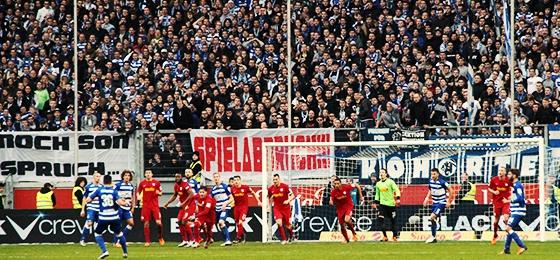 MSV vs. VfL: Bochum erleuchtet den Advent, Duisburg wenig ...