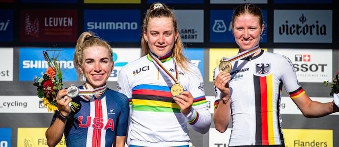 Linda Riedmann holt einzige WM-Medaille im Straßenrennen für den BDR