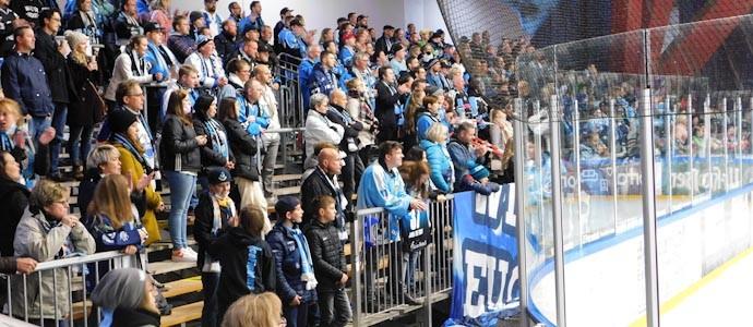 Vorbeigeschaut im Kohlrabizirkus: Icefighters Leipzig vs. Tilburg Trappers