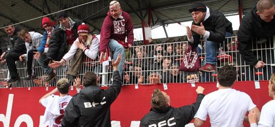 Union Berlin II vs. BFC Dynamo: Weinroter Derbysieg und ...