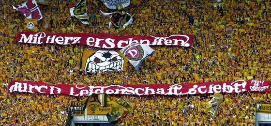 Unzählige Spruchbänder Und Eine Jubelorgie Dynamo Dresden