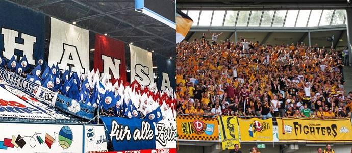 Hansa Rostock & Dynamo Dresden: Aller guten Dinge sind drei! Gemeinsam hoch!