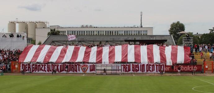 Der BFC Dynamo verkauft sich gegen Stuttgart leider unter Wert