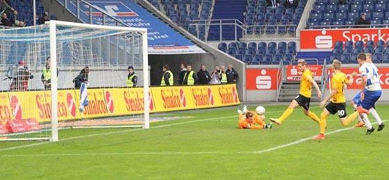 MSV Duisburg vs. Dynamo Dresden: Schiri ermöglicht Punkteteilung