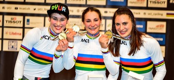 Erstes Gold für den BDR: Die Teamsprinterinnen einmal mehr souveräne Sieger