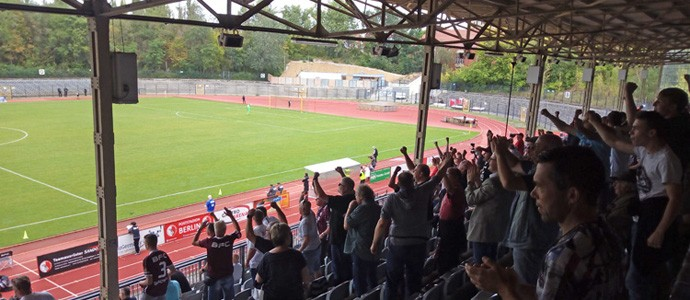 BAK 07 vs. BFC Dynamo: Überaus emotionaler Auswärtssieg im Poststadion