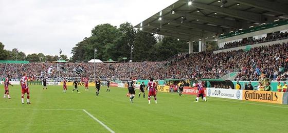 Preußen Münster gegen Bayern München