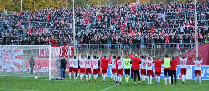 Was für die Geschichtsbücher: Rot-Weiss Essen gewinnt in Wuppertal