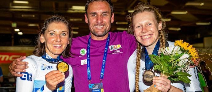 Zwei Europameistertitel für Lisa Brennauer