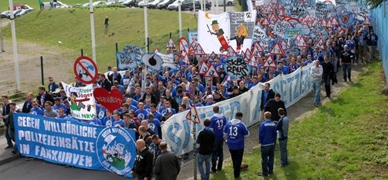 Schalker Fandemo