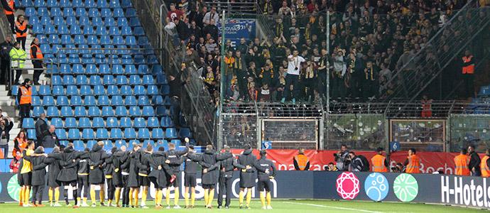 Dresden feiert Auswärtssieg