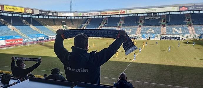 Hansa Rostock vs. Waldhof Mannheim: Gespenstisch schöner Sieg gegen die Buwe
