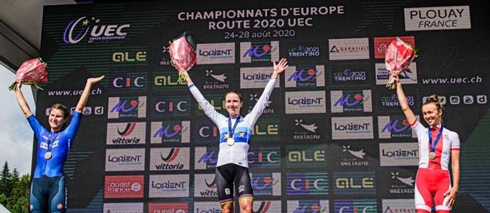 Im Weltmeistertrikot zum EM-Titel: Annemiek van Vleuten krönt starke Saison